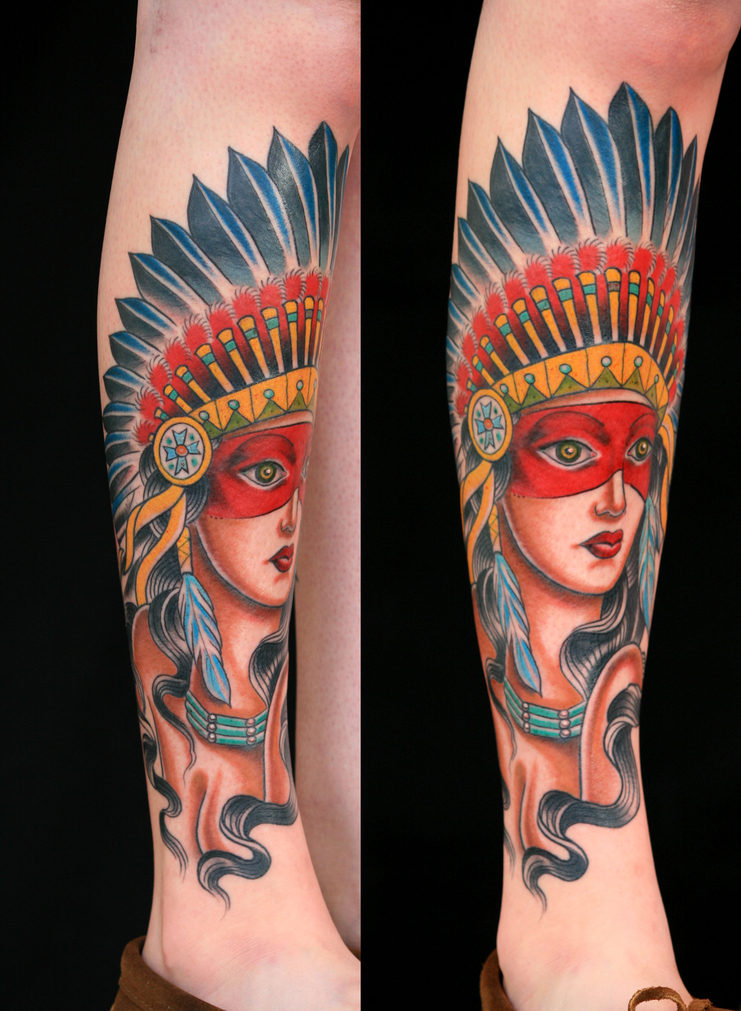 301 moved permanently for Indian woman tattoo